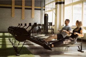 exercising indoor